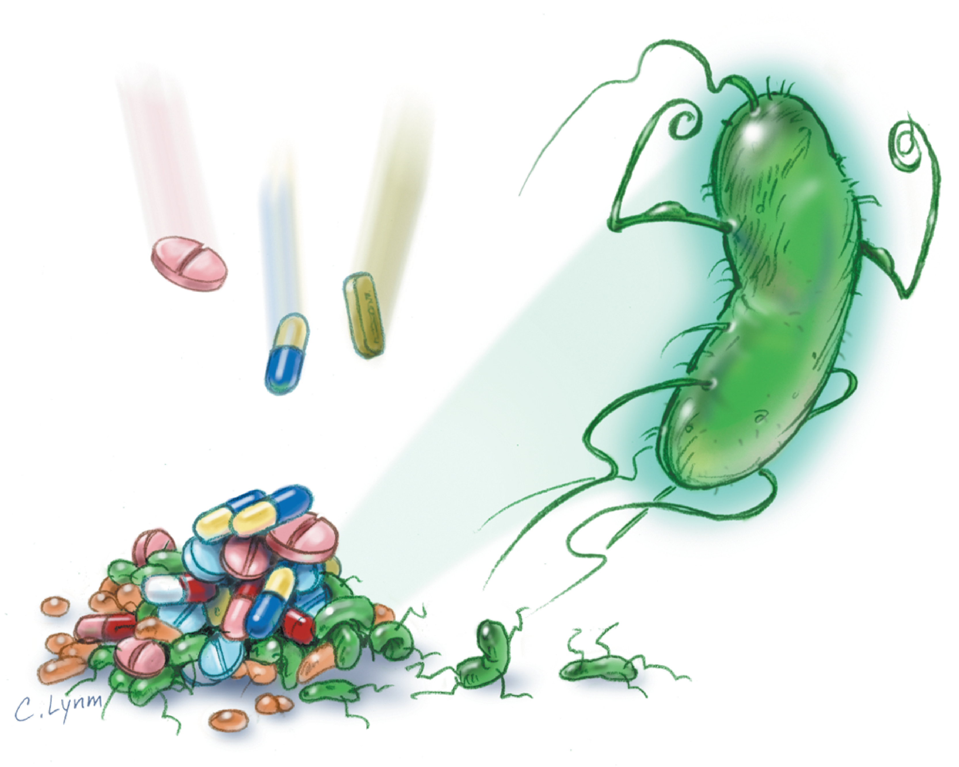 the threat of increasing bacterial resistance